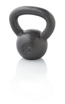 Golds Gym, kettlebell 15 lbs