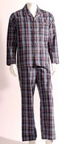 George Men's 2-piece Woven Pyjama Set 2XL/2TG