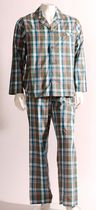George Men's 2-piece Woven Pyjama Set L/G