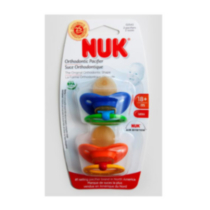 NUK Fashion Pacifier Sz3 2Pk