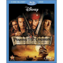 Pirates Of The Caribbean: The Curse Of The Black Pearl (3-Disc) (2-Disc Blu-ray + DVD)