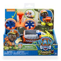 Paw Patrol Jungle Rescue Zuma's Jungle Hovercraft Toy Vehicle