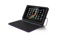 "Polaroid 9.1"" Tablet with Folio Case Keyboard Bundle Purple"