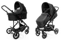 StrollAir CosmoS Single Stroller Black