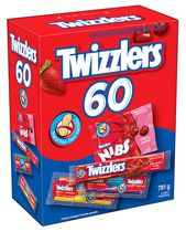Twizzlers Assorted Peanut Free Candy