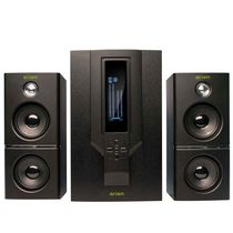 Arion 2.1 Soundstage Speakers with Subwoofer/Remote (AR504LR-BK) - Black