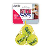 KONG AirDog SqueakAir Interactive Extra Small Tennis Balls Dog Toy