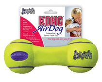 Kong AirDog SqueakAir Tennis Ball Dumbbell Dog Toy