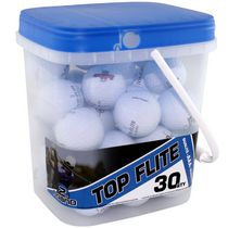Mulligan Top Flite 30 Golf Balls Bucket