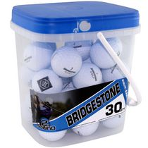 Mulligan Bridgestone 30 Golf Balls Bucket