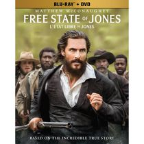 Free State Of Jones (Blu-ray + DVD) (Bilingual)