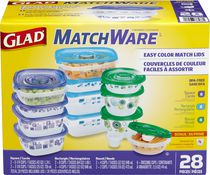 Glad Assortiment de contenants MatchWare™ de 24 pieces avec 4 pieces en prime