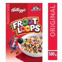 Kellogg's Froot Loops Cereal 580g, Family Size
