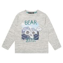 George British Design Toddler Boys' Bear Selfie T Shirt 3T