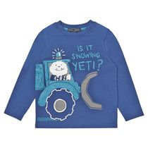 George British Design Toddler Boys' Yeti Truck Long Sleeve T Shirt 2T