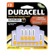 Duracell Hearing Aid Battery - Size 13