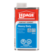 LePage Prestite Blue Contact Cement 250ml w Brush