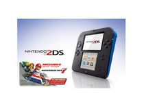 Nintendo 2DS Blue with Mario Kart 7