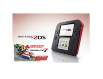 2DS Red with Mario Kart 7