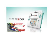 2DS Green with Mario Kart 7