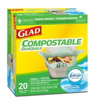 Glad Small Compost Bags 20 Ct