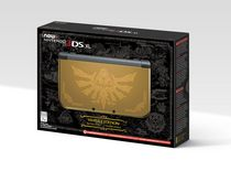 Hyrule Edition Gold New Nintendo 3DS XL System