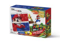 New Nintendo 3DS™ System with Super Mario™ 3D Land Edition and Faceplates