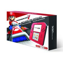 Nintendo 2DS™ Crimson Red 2 with Mario Kart™ 7 (Game Pre-Installed)