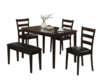 Samuel 5 Piece Dining Set