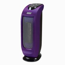 Sunbeam 17 Inches Ceramic Tower Heater, Purple