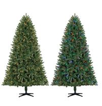 Holiday Time 7.5' Ellston Christmas Tree with LED Color Changing Lights