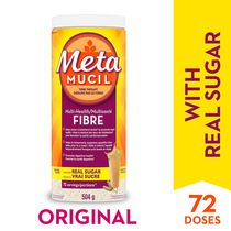 Metamucil Original Texture Unflavoured Sugar 72ds