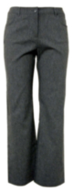George Classic 5-Pocket Bengaline Dress Pants Grey 6P