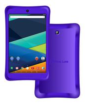 "Visual Land Prestige 8"" 16GB Tablet with Bumper Purple"