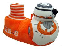 Star Wars Boys' 3-D BB8 Toddler Slippers
