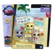 Poupée animal de compagnie Fête hawaïenne de Littlest Pet Shop