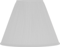 White Softpleat Shade