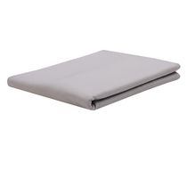 Mainstays 200-Thread Count Easy Care Fitted Sheet Grey Queen