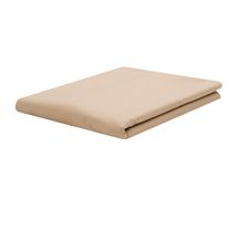Mainstays Easy Care T200 Thread Count Flat Sheet Beige Twin