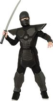 Rubie's Black Dragon Warrior Ninja Child Costume M