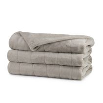 Sunbeam® Microplush Twin Size Heated Blanket Taupe