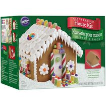 Canada Wilton Pre Baked Gingerbread House Decorating Kit