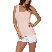 Secret Women's Soft Stretch Cotton Tank Top Pink XL