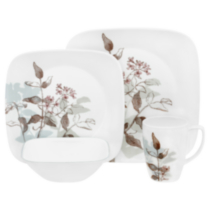Corelle® Square™ Twilight Grove 16-piece Dinnerware Set
