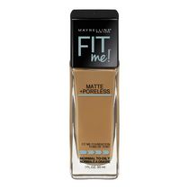 MaybellineMD New York Fond de teint Fit MeMD Matte + Poreless Caramel