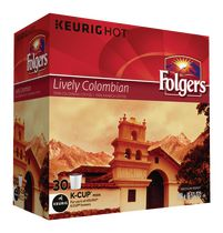 Folgers Lively Colombian K-Cup Coffee Pods