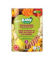 Baby Gourmet Organic Baby Food - Autumn Pumpkin, Pear & Beef Stew