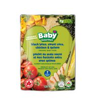 Baby Gourmet Black Bean, Sweet Corn, Chicken & Quinoa Organic Baby Food