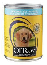 Ol'Roy Lamb & Rice Wet Dog Food for Puppies