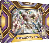 Coffret Pokémon EX 2016 Kangourex, Exclusivité Walmart - Version anglaise